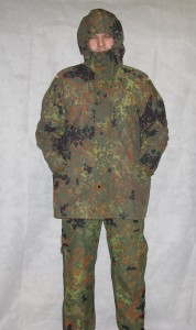 German Army Waterproof Flecktarn Overcoat (3)