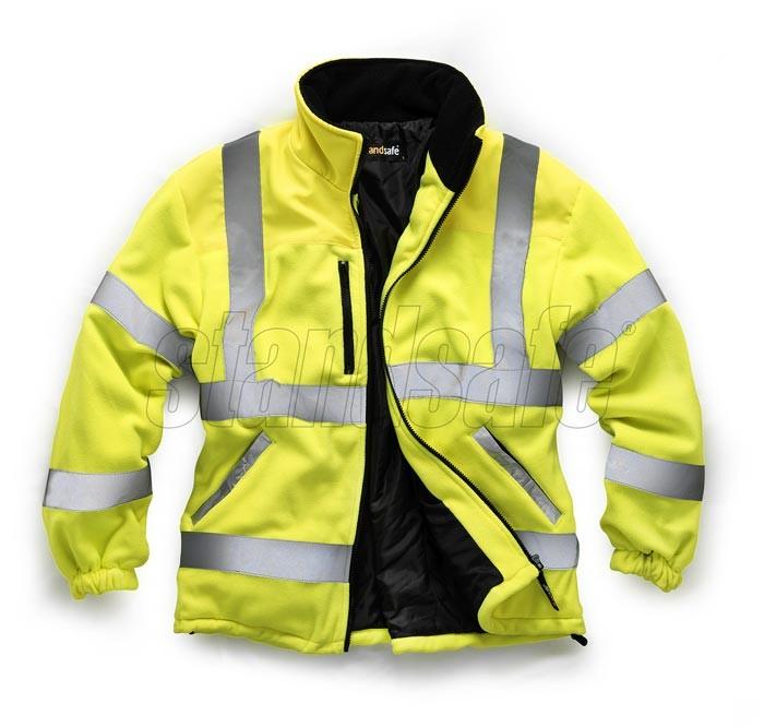 Standsafe Reflective Hi Vis Work Round Neck Tshirt THREE COLOURS