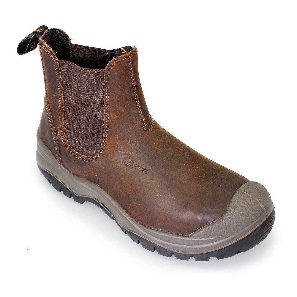 Gri Sport Chukka Slip On Safety Boot