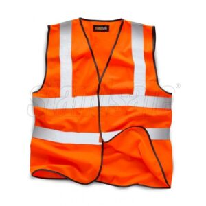 hi vis vest orange