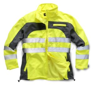 standsafe hi vis softshell yellow