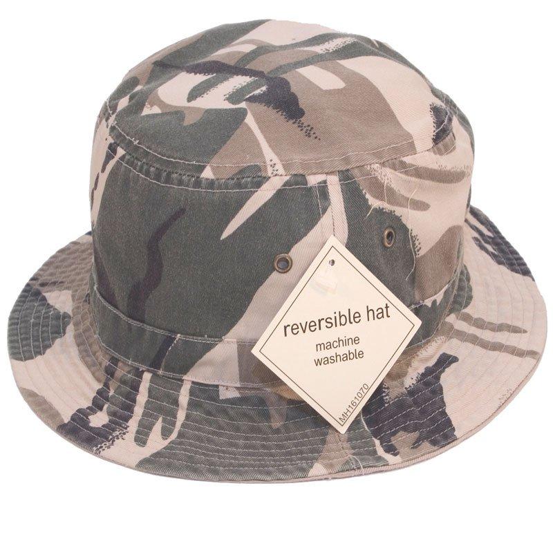 408411cae3f Reversible Camo Bush Hat soft and comfortable
