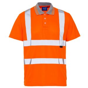 hi vis bird eye polo or