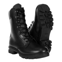 leather lined combat boot