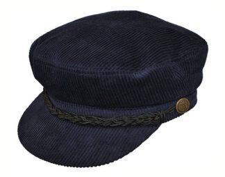 Corduroy Breton Style Cap