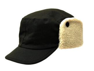 Denton Hats Dakota Waxed and Fleece Trapper Style Hat