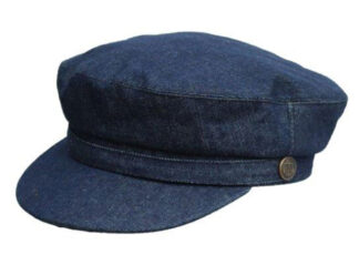 Denton Hats Denim Breton Cap