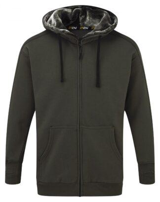 fur lined hoody