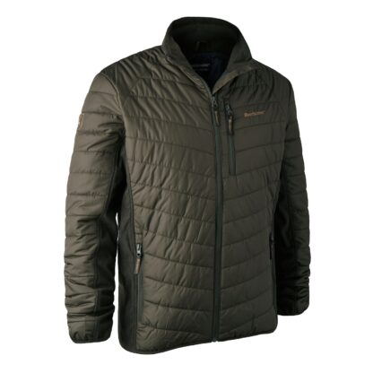 deerhunter moor padded jacket with softshell